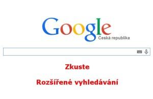 Rozšířené vyhledávání na Googlu